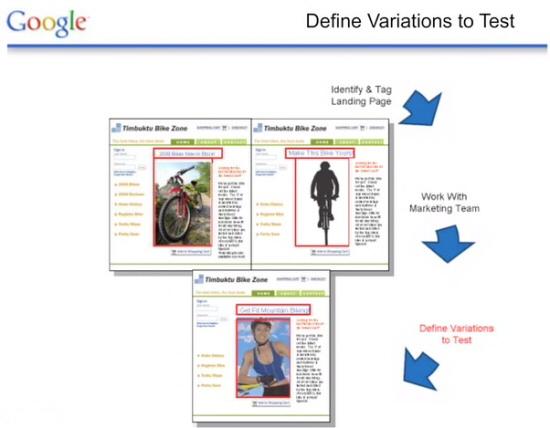 Démonstration de l'Optimiseur de Site de Google: 3