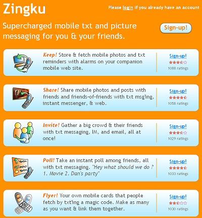 Zingku (service de NetWorking pour mobile)