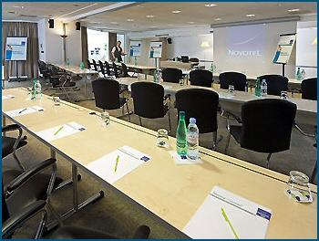Salle pour séminaire Hotel Novotel des Halles (à Paris