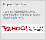 Publicité contextuelle Yahoo YPN (Yahoo! Publisher Network)